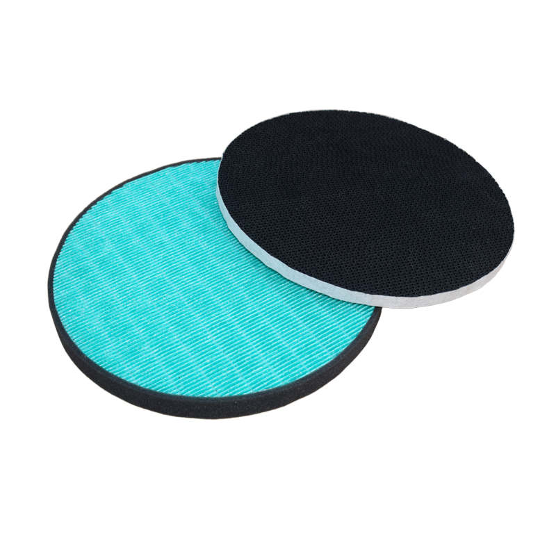 Hot-sale product air filter hepa filter for LG round hepa  corrugated carbon filter from China