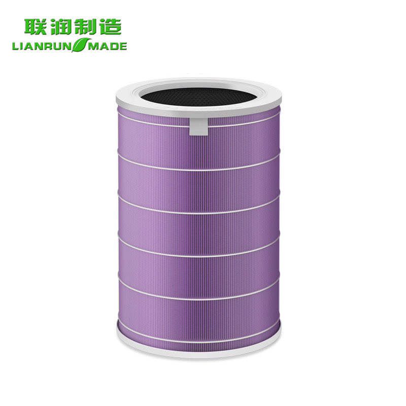 Air purifier filter for xiao mi antibacterial hepa filter - purple