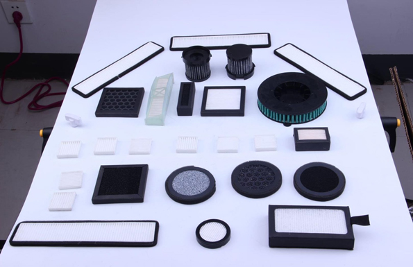 our Small HEPA filter series vacuum cleaner filter breathing mask filter electrical cabinet filter